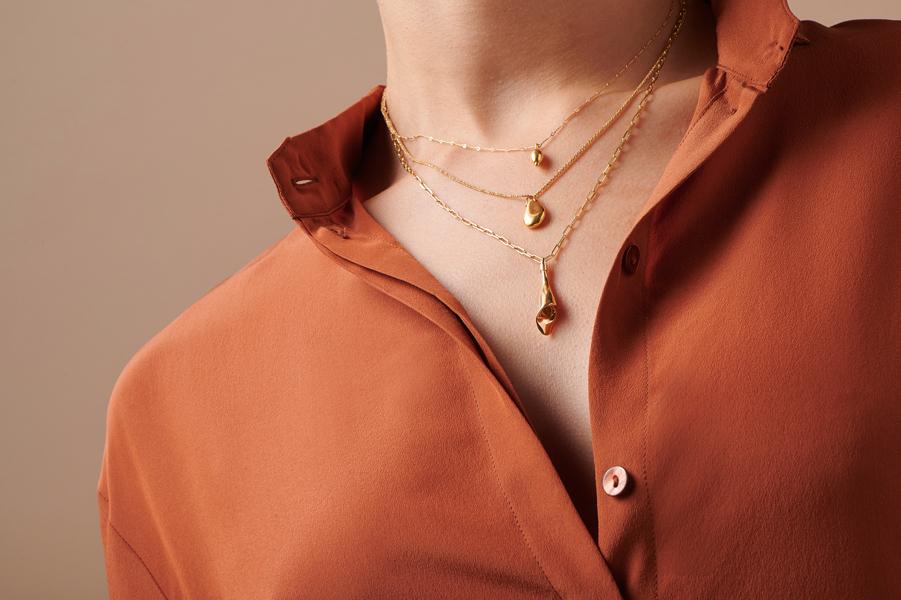 Sepal Necklace