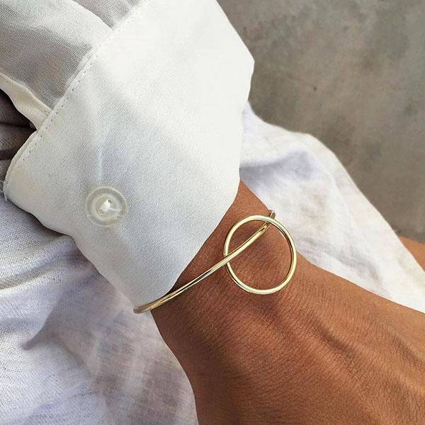 Circle link Cuff