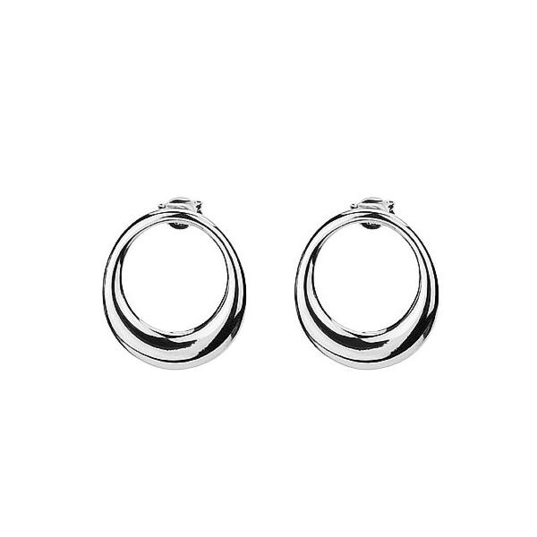 Lune silver Earrings